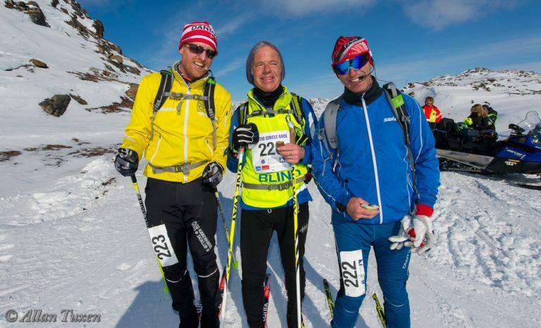Billede af 3 deltagere i ARC 2016: Henrik Seidelin Dam, Arne Christensen og Lars Røpke