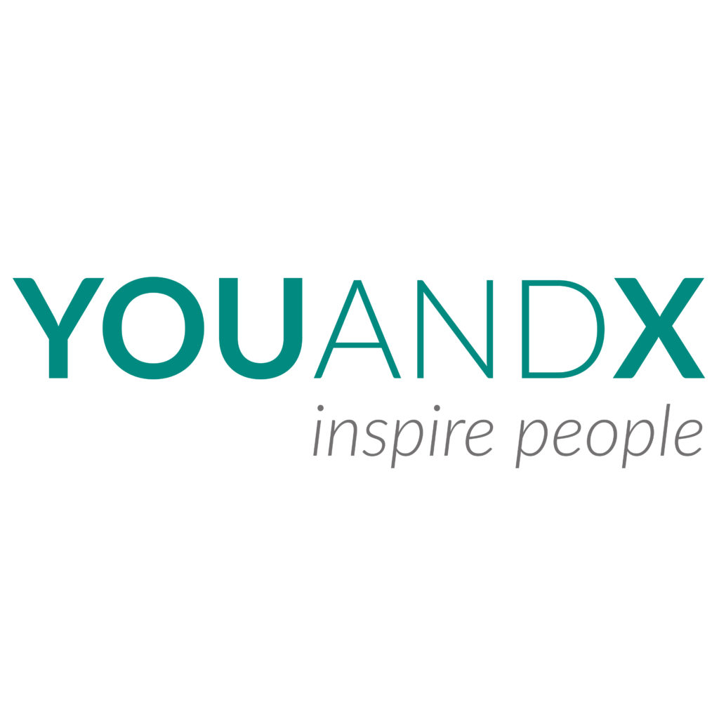 Logo for YouANDX